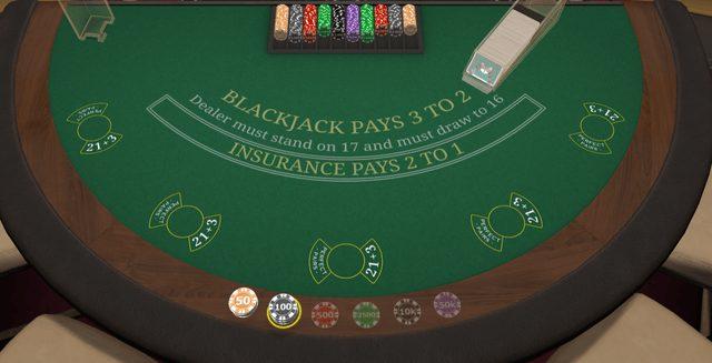 ブラックジャックファーストパーソンは最大5つのマルチハンドに賭けられる
